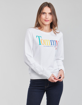 Tommy Jeans TJW REGULAR COLOR TOMMY CREW