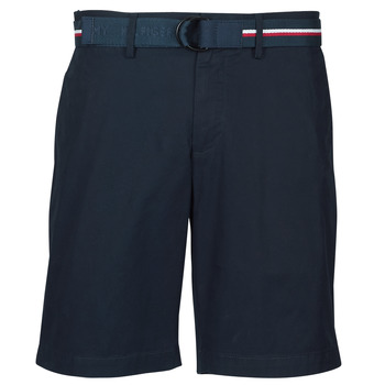 material Men Shorts / Bermudas Tommy Hilfiger BROOKLYN LIGHT TWILL Marine