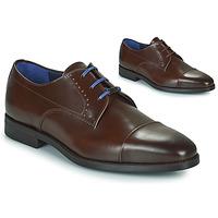 Shoes Men Derby shoes Azzaro GARONNE Cognac
