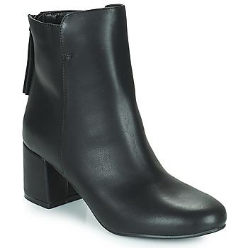 Shoes Women Ankle boots The Divine Factory LH2268 Black