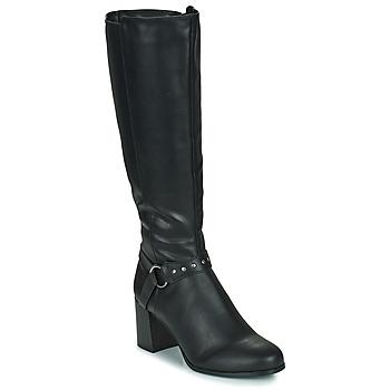 Shoes Women Boots The Divine Factory LH2080D Black