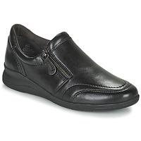 Shoes Women Low top trainers Jana ZERRA Black