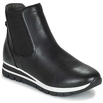 Shoes Women Mid boots Jana HOULIA Black