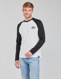 material Men Long sleeved shirts Dickies COLOGNE White / Black