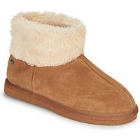 Shoes Women Slippers Isotoner 97307 Camel