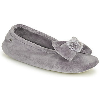 Shoes Women Slippers Isotoner 97206 Grey
