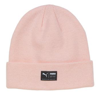 Accessorie Women hats Puma ARCHIVE heather beanie Pink