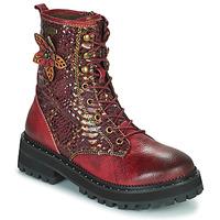 Shoes Women Mid boots Laura Vita IACNISO Bordeaux / Violet