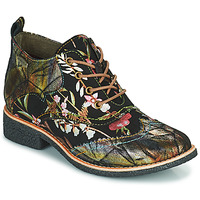 Shoes Women Mid boots Laura Vita COCRALIEO Black / Green / Pink