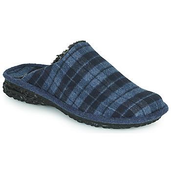 Shoes Men Slippers Romika Westland TOULOUSE 57 Blue / Black
