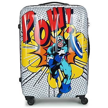Bags Hard Suitcases American Tourister MARVEL LEGENDS POP ART 77 CM Multicolour