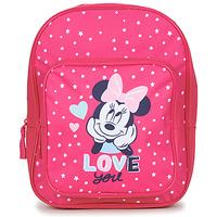 Bags Girl Rucksacks Disney SAC A DOS MINNIE 23 CM Pink