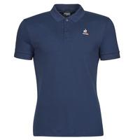 material Men short-sleeved polo shirts Le Coq Sportif ESS POLO SS N 1 M Marine