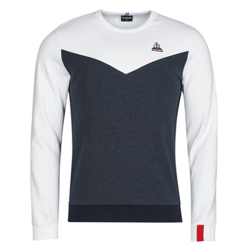 material Men sweaters Le Coq Sportif SAISON 1 CREW SWEAT N 1 Marine / White