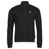 material Men Jackets Le Coq Sportif ESS FZ SWEAT N 3 M Black