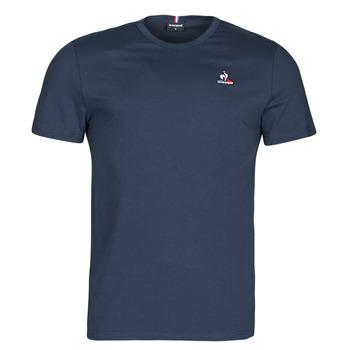 material Men short-sleeved t-shirts Le Coq Sportif ESS TEE SS N 3 M Marine