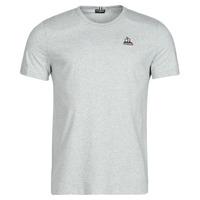 material Men short-sleeved t-shirts Le Coq Sportif ESS TEE SS N 3 M Grey / Mottled