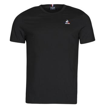 material Men short-sleeved t-shirts Le Coq Sportif ESS TEE SS N 3 M Black