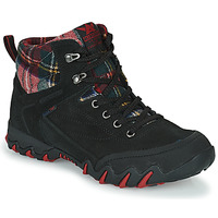 Shoes Women Hiking shoes Allrounder by Mephisto NIGATA TEX Black / Red