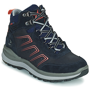Shoes Women Hiking shoes Allrounder by Mephisto SATIKA TEX Blue / Pink