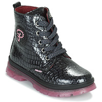 Shoes Girl Mid boots Pablosky 404157 Black