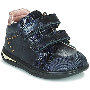 Shoes Girl High top trainers Pablosky 6122 Marine