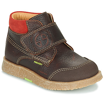 Shoes Boy Mid boots Pablosky 502593 Brown