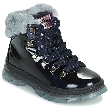 Shoes Girl Mid boots Pablosky 404429 Blue