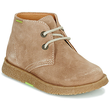 Shoes Boy Mid boots Pablosky 502148 Camel
