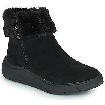 Shoes Women Mid boots Scholl COURMAYEUR Black
