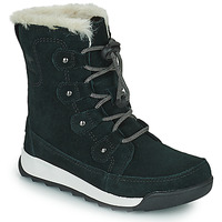 Shoes Girl Mid boots Sorel YOUTH WHITNEY II JOAN LACE Black