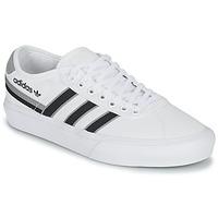 Shoes Low top trainers adidas Originals DELPALA White / Black