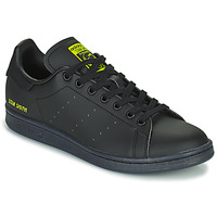 Shoes Low top trainers adidas Originals STAN SMITH Black / Yellow