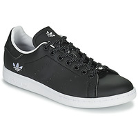 Shoes Women Low top trainers adidas Originals STAN SMITH Black