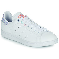 Shoes Women Low top trainers adidas Originals STAN SMITH W White / Lilac