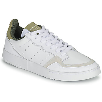 Shoes Low top trainers adidas Originals SUPERCOURT White / Brown