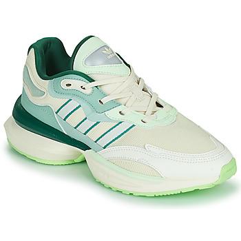 Shoes Women Low top trainers adidas Originals OZIKENIEL White / Green