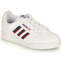 Shoes Children Low top trainers adidas Originals CONTINENTAL 80 STRI C White / Blue