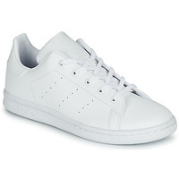 Shoes Children Low top trainers adidas Originals STAN SMITH C White