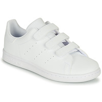 Shoes Children Low top trainers adidas Originals STAN SMITH CF C White