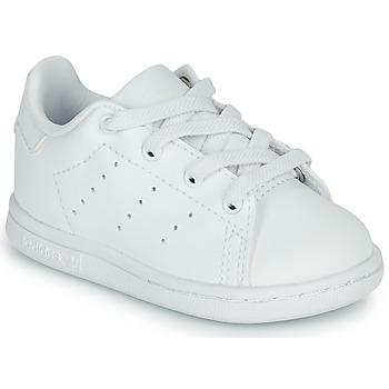 Shoes Children Low top trainers adidas Originals STAN SMITH EL I White