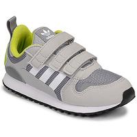 Shoes Boy Low top trainers adidas Originals ZX 700 HD CF C Grey / Green