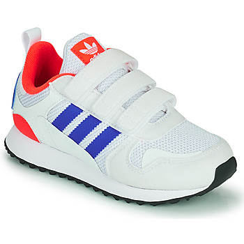 Shoes Children Low top trainers adidas Originals ZX 700 HD CF C Blue / White / Red