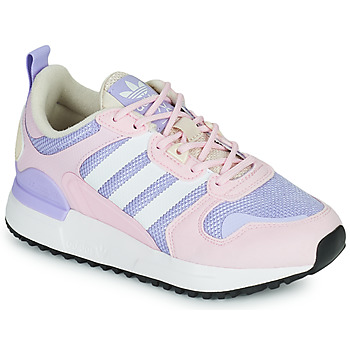 Shoes Girl Low top trainers adidas Originals ZX 700 HD J Pink / Clear