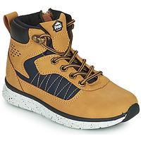 Shoes Boy Mid boots Primigi B&G TIMBY Cognac
