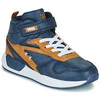 Shoes Boy High top trainers Primigi B&G MEGA Blue / Brown