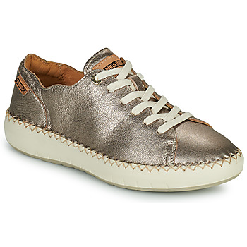 Shoes Women Low top trainers Pikolinos MESINA W6B Silver