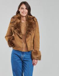 material Women Blouses Molly Bracken HA008H21 Camel