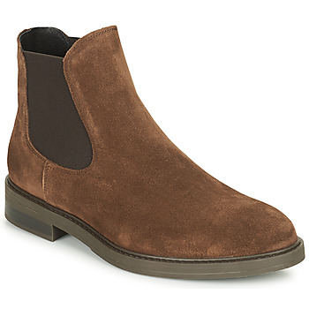 Shoes Men Mid boots Selected CHELSEA Brown