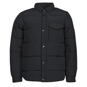 material Men Duffel coats Scotch & Soda WATER-REPELLENT SHIRT Black